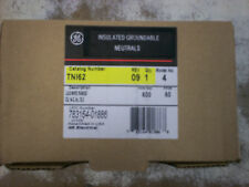 3 in box General Electric TNI63 Insulated Groundable Neutrals 100 Amps 600V GE