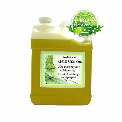 APPLE SEED OIL BY DR.ADORABLE 100% PURE ORGANIC COLD PRESSED  2ozUP TO 7 LB