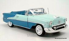 Oldsmobile Super 88 Cabriolet, hellgrün/blau 1955  -  1:18 Welly