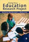 Doing Your Education Research Project by Marion Jones, Neil Burton, Mark Brundrett (Hardback, 2013)