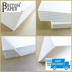 A4 A3 A2 CARD SHEETS BOARD 2mm THICK PAPER MOUNT MODEL ART CRAFT KRAFT CARDBOARD