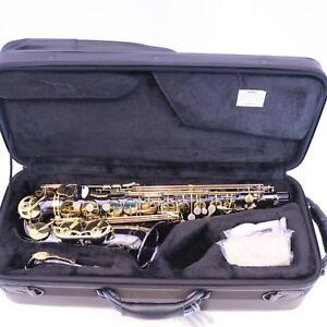 Selmer-La-Voix-II-Alto-Saxophone-in-BLACK-LACQUER-MINT-CONDITION