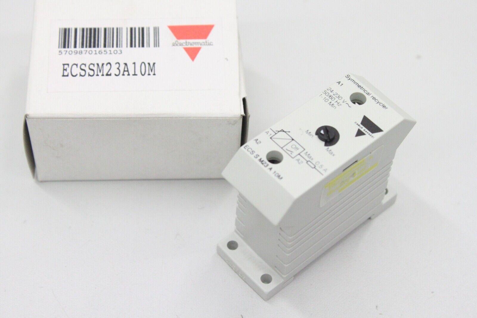 ELECTROMATIC ECS S M23 A 10M 1-10min Zeitrelais ECSSM23A10M OVP