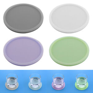NEW-1PC-4PCS-Luminous-Silicone-Coaster-Tea-Cup-Drink-Holder-Mat-Placemat-Pad