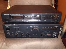 ONKYO INTEGRA A-8067 INTEGRATED STEREO POWER AMPLIFIER AMP WITH T-4057 TUNER