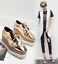 Ladies-Square-Toe-Oxford-High-Wedge-Platform-Lace-Up-Creepers-Leather-Shoes-Size thumbnail 3