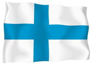 Sticker-decal-vinyl-decals-national-flag-car-finland-finnish-ensign-bumper