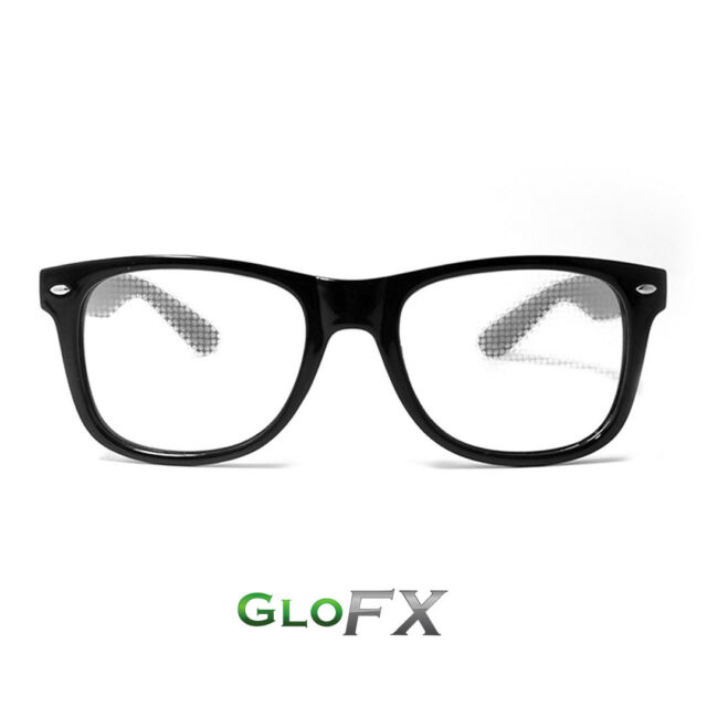 See Hearts! Unisex Adults Raves Music Festivals Glasses Special Effect EDM Festival Light Changing Eyewear Heart Effect Diffraction Glasses