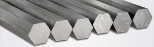 """5//8/"""" x 36/"""" long 5N1 Alloy 316 stainless solid hex bar"""