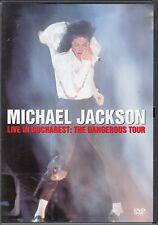"""DVD MICHAËL JACKSON """"LIVE IN BUCHAREST : THE DANGEROUS TOUR"""""""
