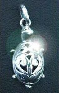 Celtic-Turtle-Charm-Mother-Earth-Real-Genuine-sterling-silver-925-Jewelry