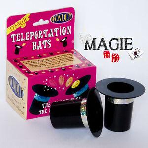 Téléportation de pièces entre chapeaux - Magie