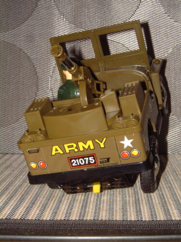 Alle Artikel in Elektrisches Spielzeug DAISHIN FRONT-LINE ARMY JEEP BATTERY OPERATED 100% FULLY FUNCTIONAL W/BOX!!