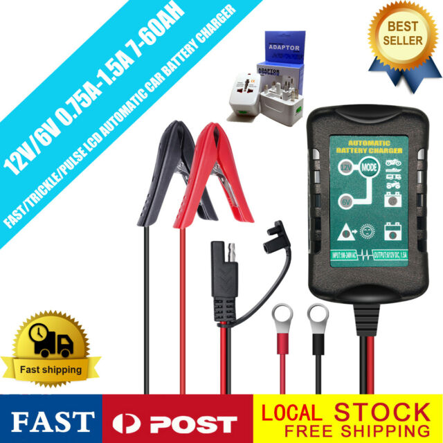 5A 12V Car Motor Automatic Smart Lead Acid Battery Charger Maintainer Optimiser