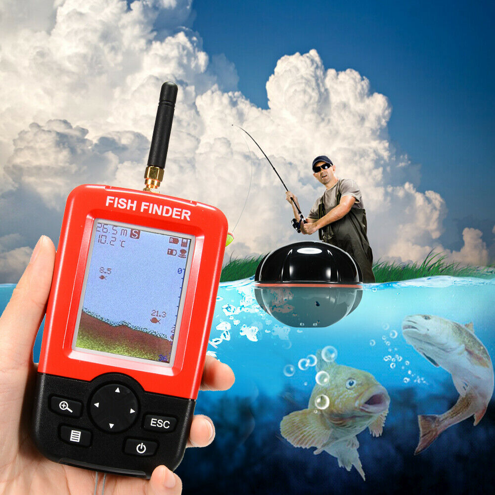 Smart Wireless Portable Deeper Fish Finder with 100m Sonar Sensor Fishfinder  | Ausgewählte Materialien