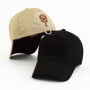 d574d75f304 New Seal Team Skull Cap Tactical Baseball Snapback Hat Sport Fishing ...