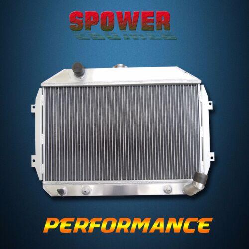 Aluminum Radiator For Nissan Datsun 240Z 2.4L 70-73 260Z 2.6L 74-75 3 Row Core