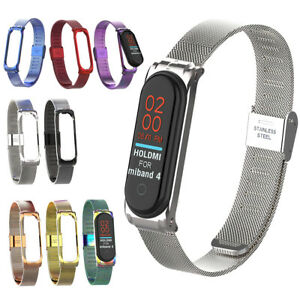 Stahl-Schnabel-Mailaender-Ersatz-Band-Strap-Armband-For-Xiaomi-Mi-Band-4-3