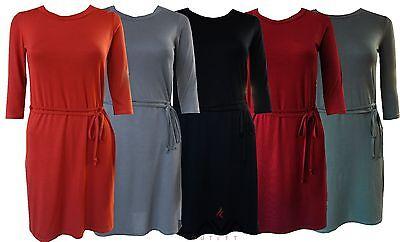 G1024 Womens Ladies Boohoo Style Smart Casual Warm Tie Belt Cardigan Top