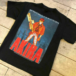 vintage rare AKIRA Anime Japan T shirt Size S-2XL Reprint