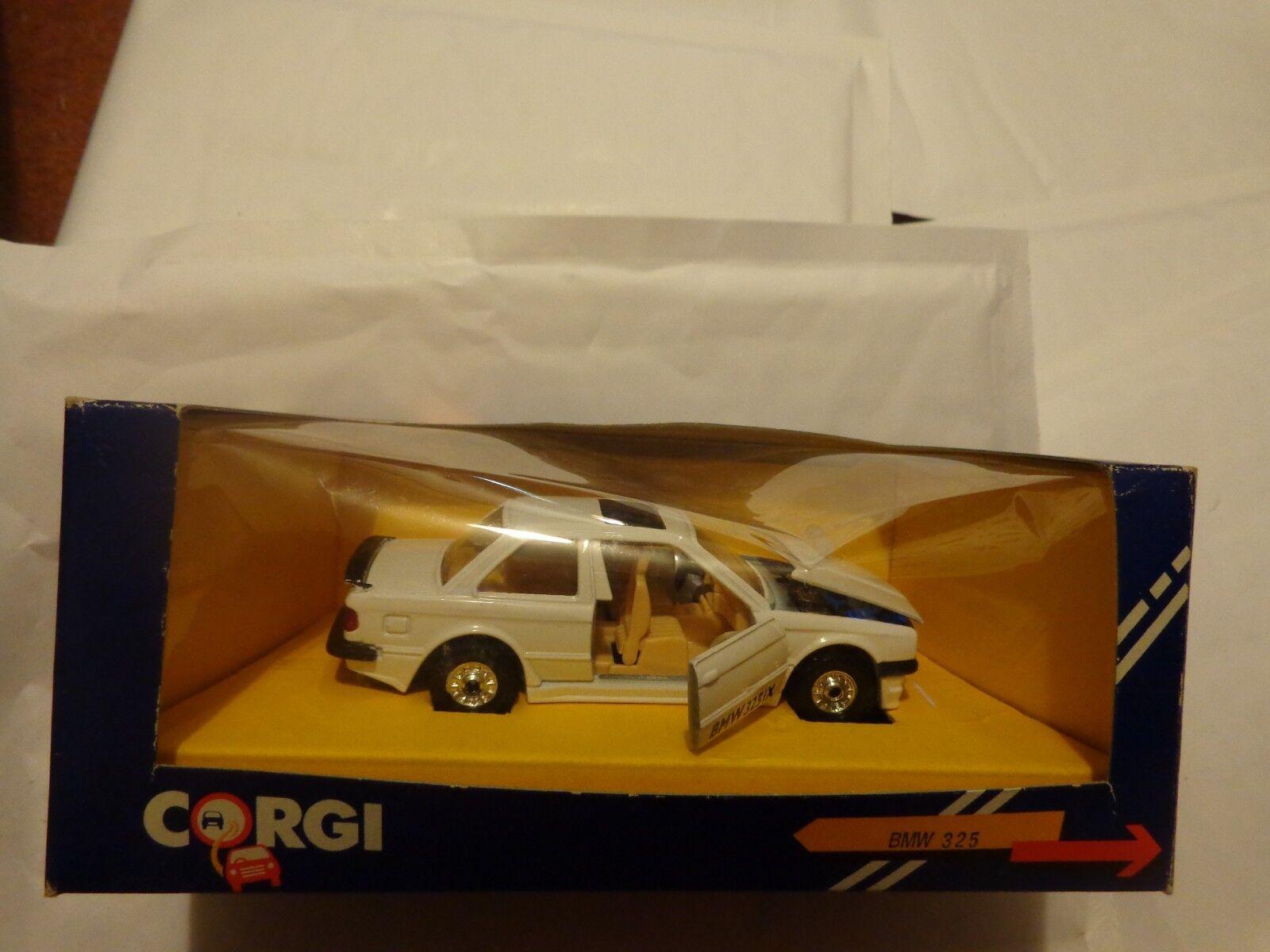 VINTAGE CORGI BMW 325IX WHITE CAR MINT BOXED NUMBER 352