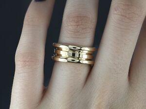 Image Is Loading 1 950 Bvlgari 18k Yellow Gold Bulgari B