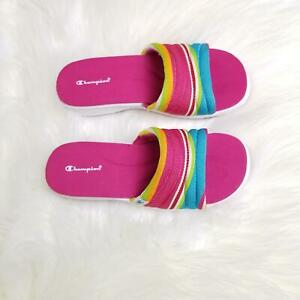 8d4659da2ba2d Champion Multi Color Pink Sandals Women s Blue Green Orange White ...