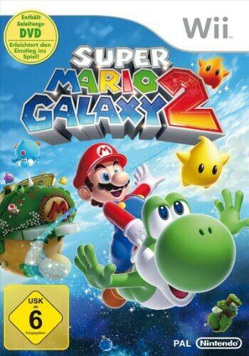 Nintendo Wii jeu - Super Mario Galaxy 2 dans l'emballage utilisé