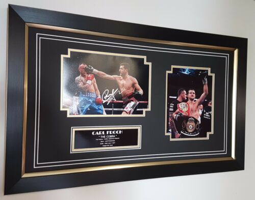 NEW Carl Froch SIGNED Photo Picture Autograph Display