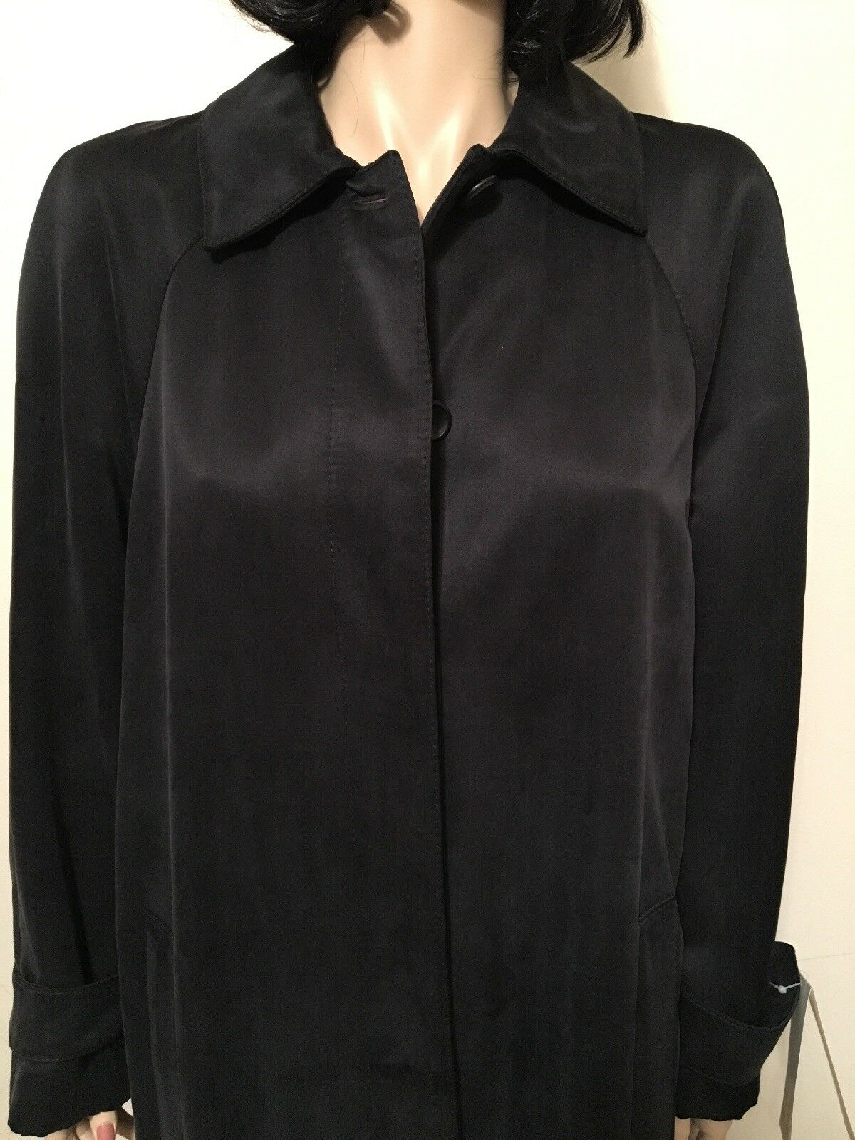 Retail    3,250 Hettabretz 100% Silk Coat Fully Lined Size 42 Made In   NWT d6c277