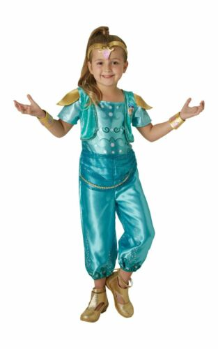 SHINE Ragazze Costume Shimmer Nick Jr Costume Vestito Ufficiale Dressup Childs