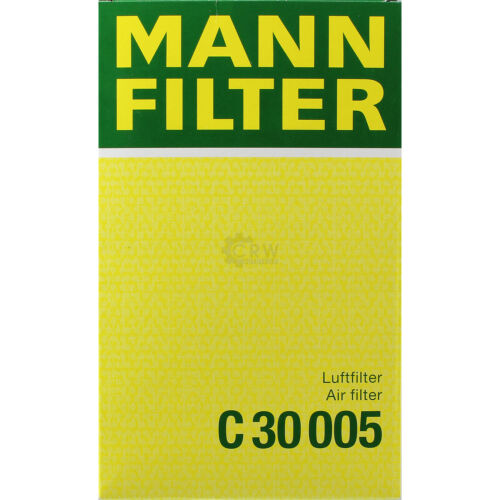 ORIGINALE MANN-FILTER FILTRO ARIA C 30 005 AIR FILTER