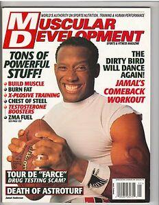 Muscular development muscle magazine atlanta falcon jamal anderson 1