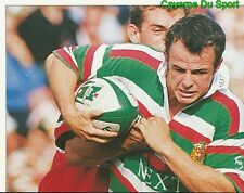 309 AUSTIN HEALEY LEICESTER TIGERS 1  STICKER PREMIER DIVISION RUGBY 1998 PANINI