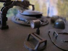Suchscheinwerfer Schweinwerfer Lampe Sherman RC Panzer Tank Metall Zubehör 1/16