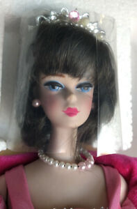 New-1990-Sophisticated-Lady-BARBIE-Doll-Mattel-5313-65-Reproduction-In-Box