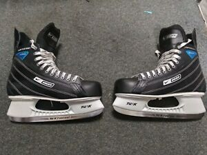 bauer-supreme-enforcer-ice-hockey-skates-size-12-mens-adult-tuuk-fasteel