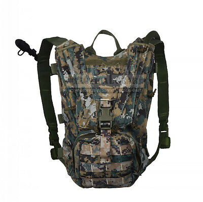 Tactical Military Hydration Backpack with 3L Bladder Bag Cycling Hiking Camping