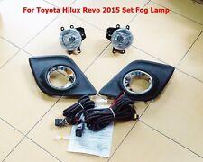 TOYOTA HILUX REVO 2015-2016 FOG LAMP KIT SET COME WITH MANUAL INATALL