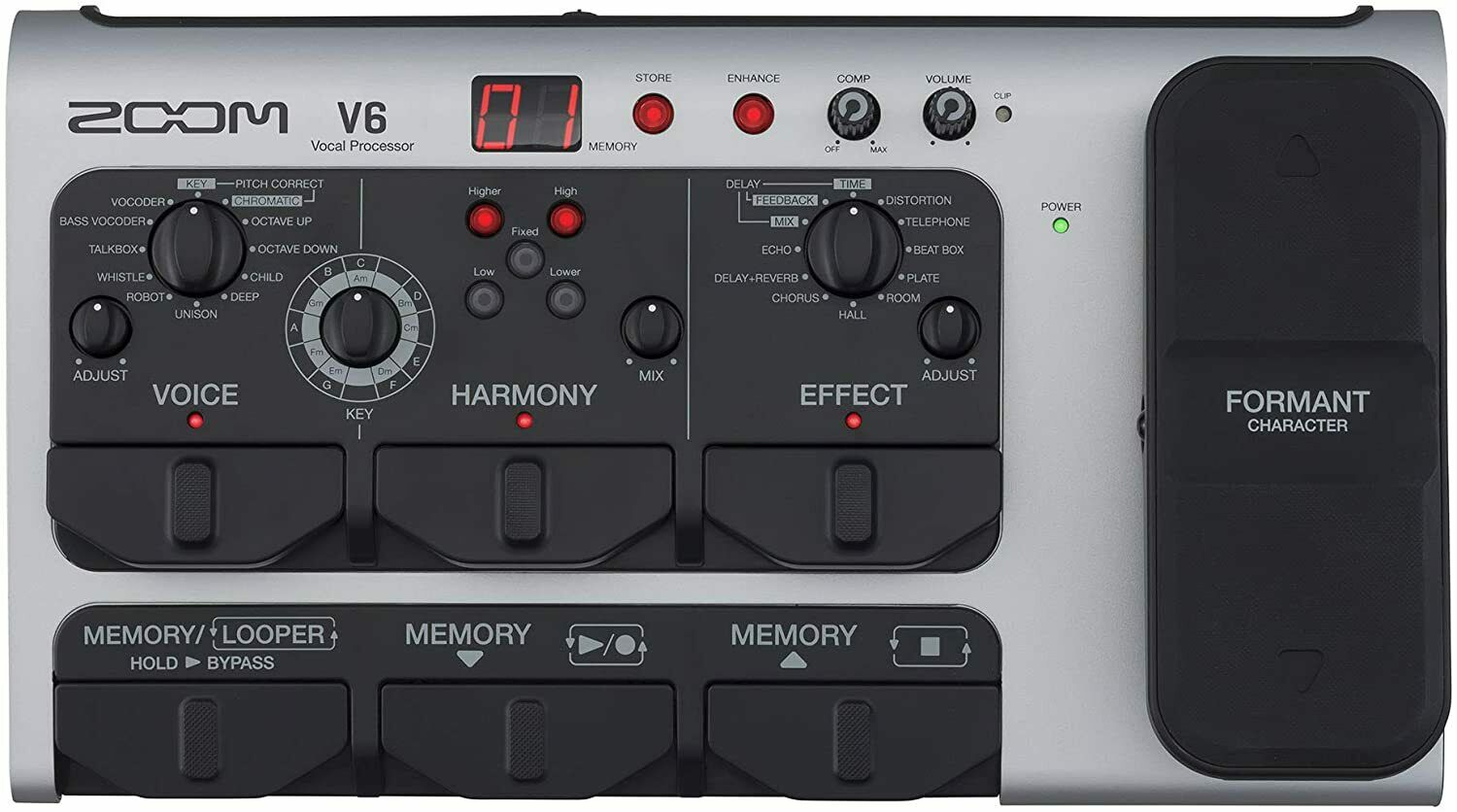 Zoom ZV6 V6 Vocal Processor. Buy it now for 319.00