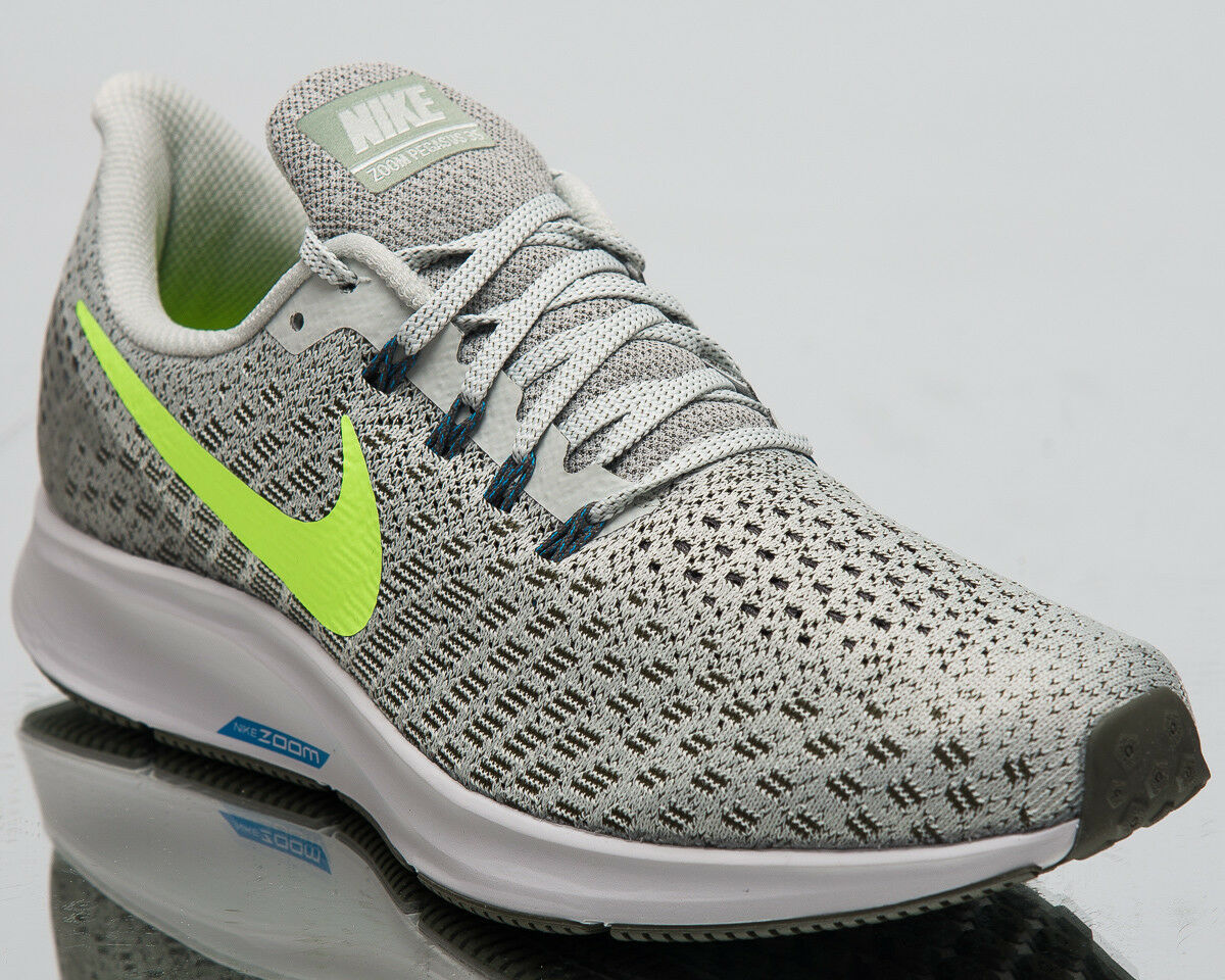 Nike Air Zoom Pegasus 35 Men Sneakers Light Silver Lime Running shoes 942851-010