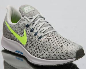 60b6819a39e9 Nike Air Zoom Pegasus 35 Men Sneakers Light Silver Lime Running ...