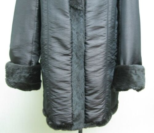 Dark Hoodie Shipg Silk Mink Brown Fur Free Plucked amp; Halfcoat Lady Reversible Us 5awxq