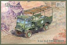 IBG 1/72 BEDFORD QL 3-ton 4x4 FIRE TENDER # 72005