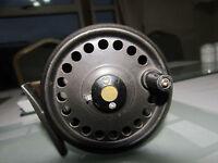 good vintage retro intrepid rimfly gnat trout fly fishing reel 3 + 3/8ths