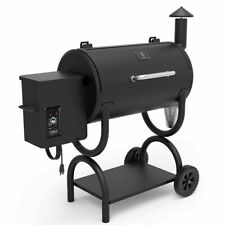 Z GRILLS ZPG-550B 2020 Upgrade Wood Pellet Grill & Smoker 8 in 1 BBQ Grill Auto