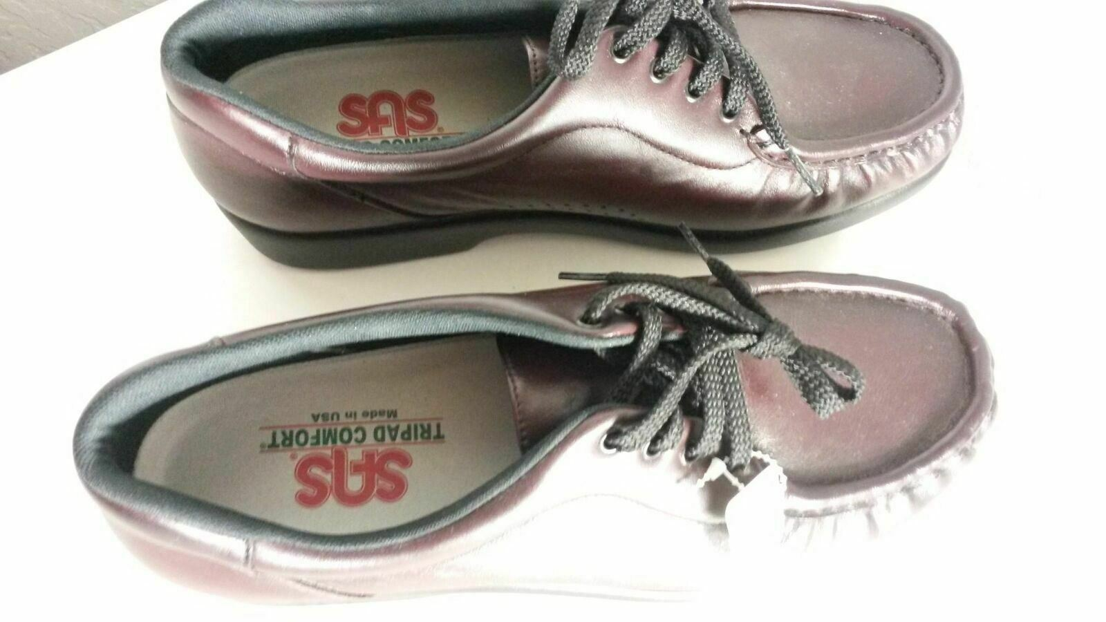 SAS Take Time Burgundy Womens Orthopedic Orthopedic Orthopedic shoes Size 9 M ( 144) 168647