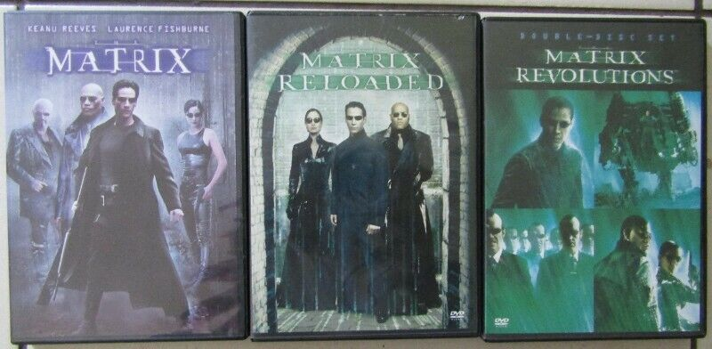 Matrix Collection - 5 DVD's in total