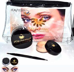 Itay-Beauty-Brow-Building-Fiber-5-gr-Black-Shaper-Wax-duo-Brush-Bag