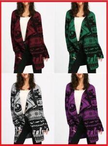 New Jack Skellington Nightmare Before Christmas Cardigan Wrap Sweater For Women | eBay